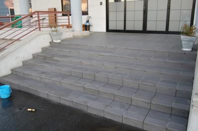 階段アク取り完了.JPG