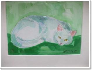 我が家の猫の絵