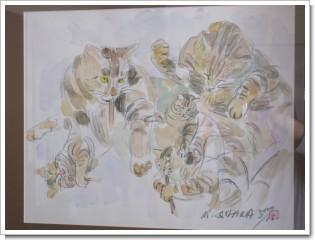 我が家にある猫の絵Ⅱ