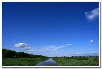 春水1(青空と運河)新篠津.jpg