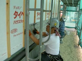 外壁工事 (3)